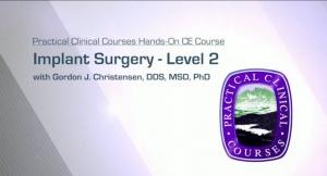 Implant Surgery - Level 2 - 041720 - CE Courses
