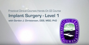 Implant Surgery - Level 1 - Implant 1 - CE Courses