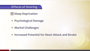 Snoring & Sleep Apnea - Patient Education - Patient Education