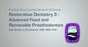 Restorative / Implant Dentistry 3 - 071919 - CE Courses