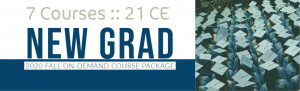 New Grad - On-Demand Fall 2020 Course package